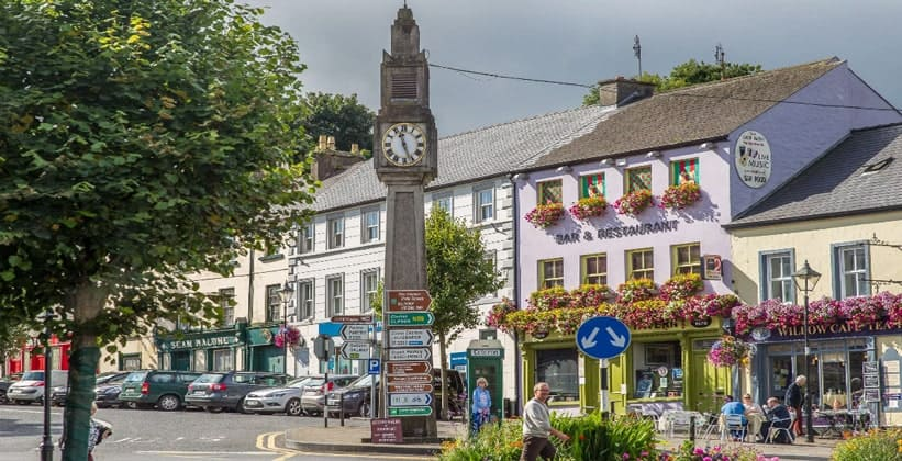 Город Уэстпорт в Ирландии
