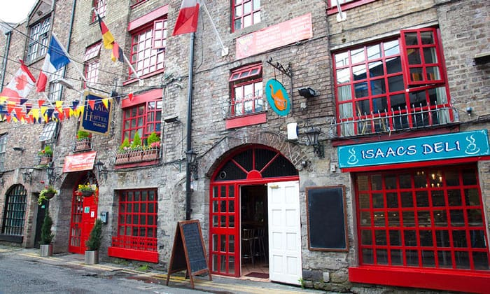 Хостел Isaacs в Дублине