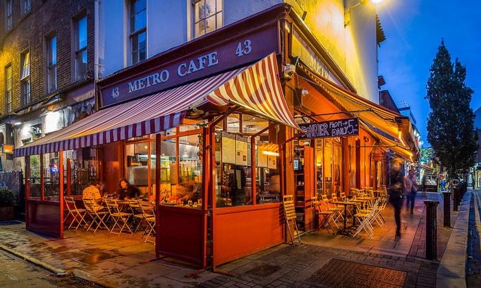 Кафе Metro в Дублине