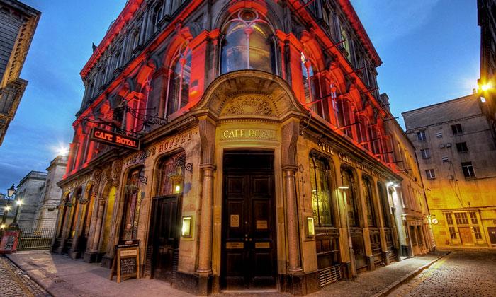 Кафе Royal в Эдинбурге
