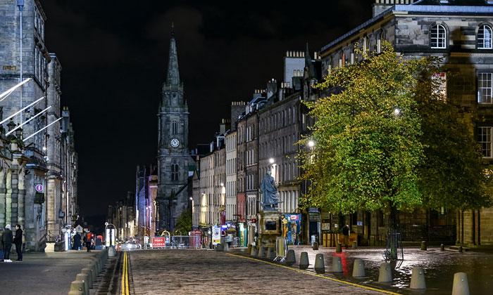 Королевская миля в Эдинбурге