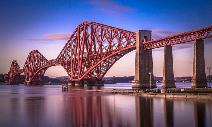 Мост Форт-Бридж в Эдинбурге