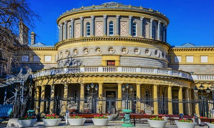 Национальный музей Ирландии в Дублине