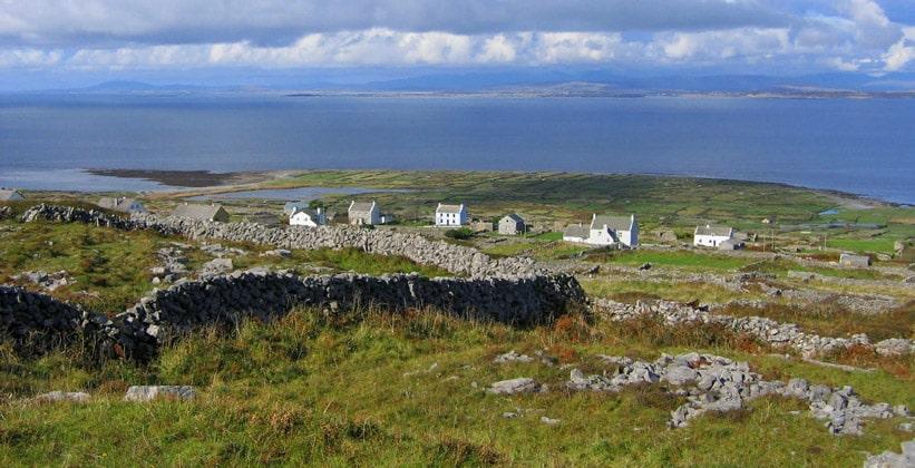 Остров Инишмор в Ирландии