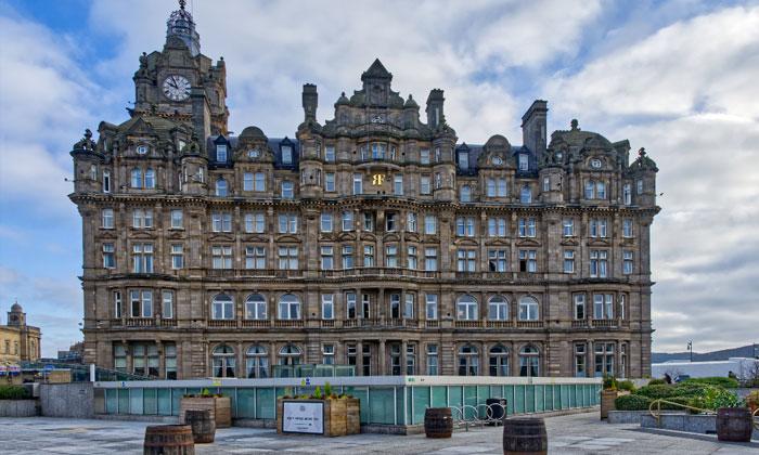 Отель The Balmoral в Эдинбурге