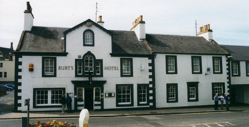 Отель Burts в городе Мелроуз