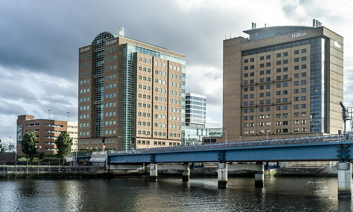 Отель «Hilton» в Белфасте