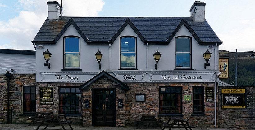 Отель The Towers в деревне Гленби