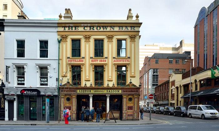 Бар «The Crown» (Белфаст, Сев. Ирландия)