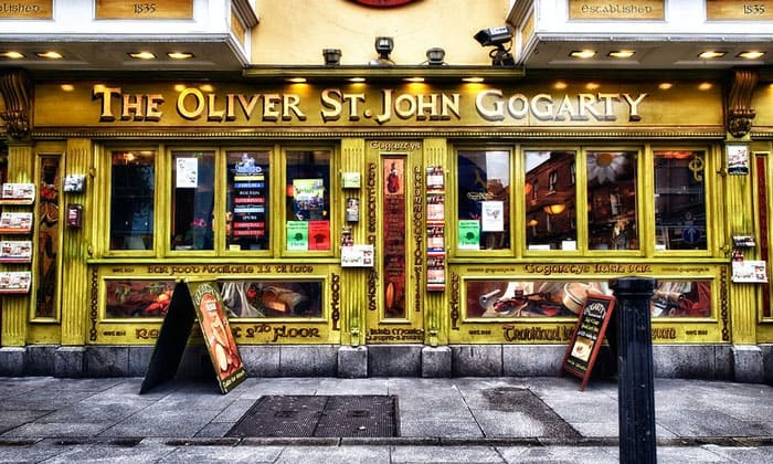 Паб The Oliver St. John Gogarty в Дублине