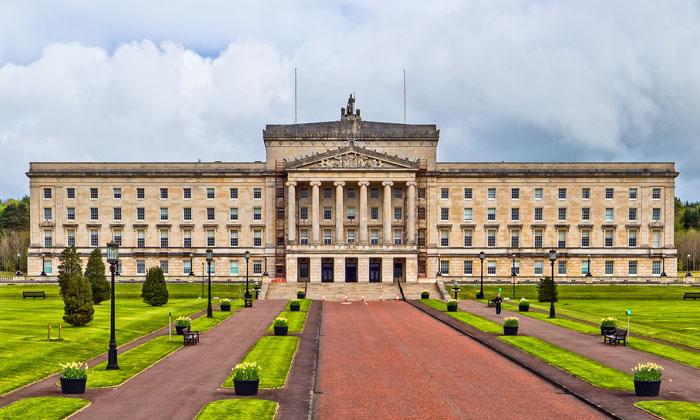 Здание парламента «Стормонт» в Белфасте