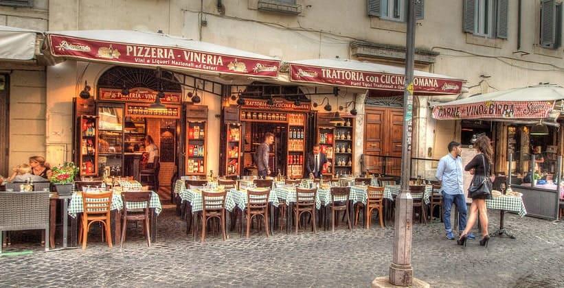 Пиццерия Campo de Fiori в Риме