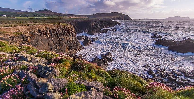 Полуостров Дингл в Ирландии