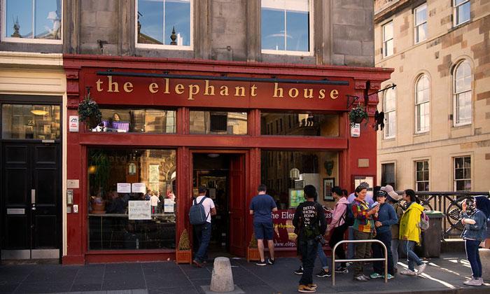 Ресторан The Elephant House в Эдинбурге
