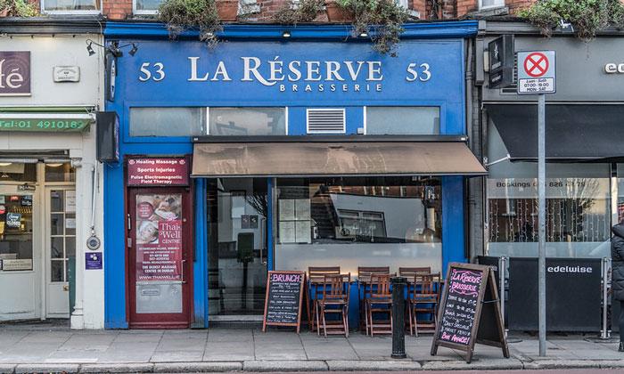 Ресторан La Reserve в Дублине