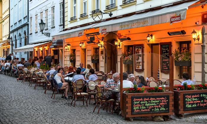 Ресторан «U Zlatych nuzek» (Прага)