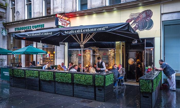 Ресторан «Seafood» в Глазго