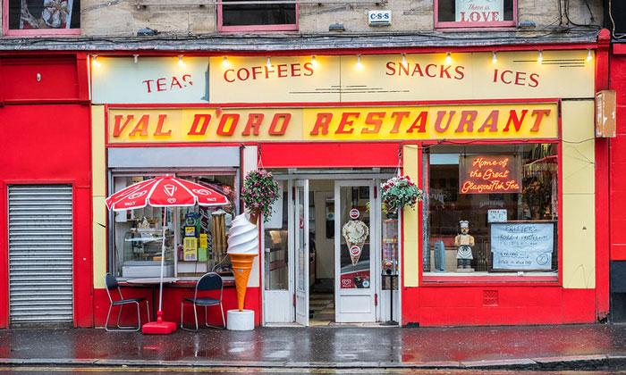 Ресторан «Val d'Oro» в Глазго