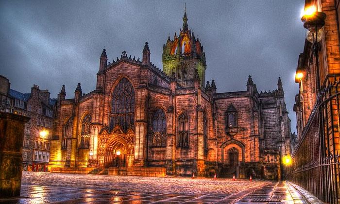 Собор Святого Джайлса в Эдинбурге