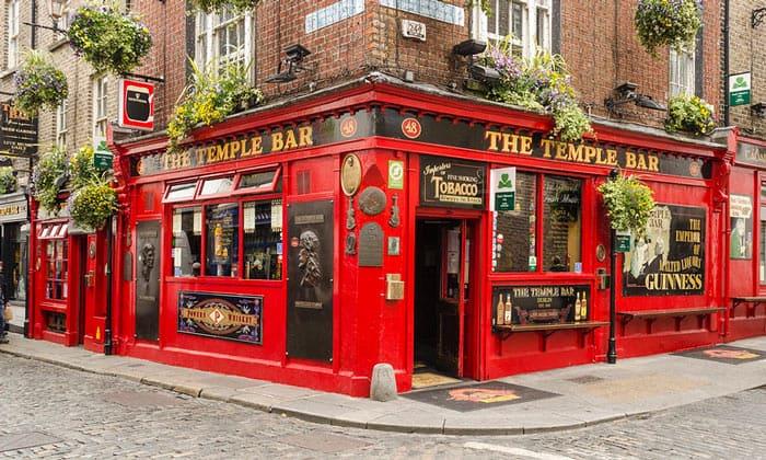 Бар The Temple в Дублине