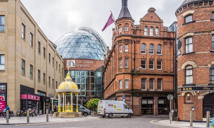 Торговый центр «Victoria Square» в Белфасте