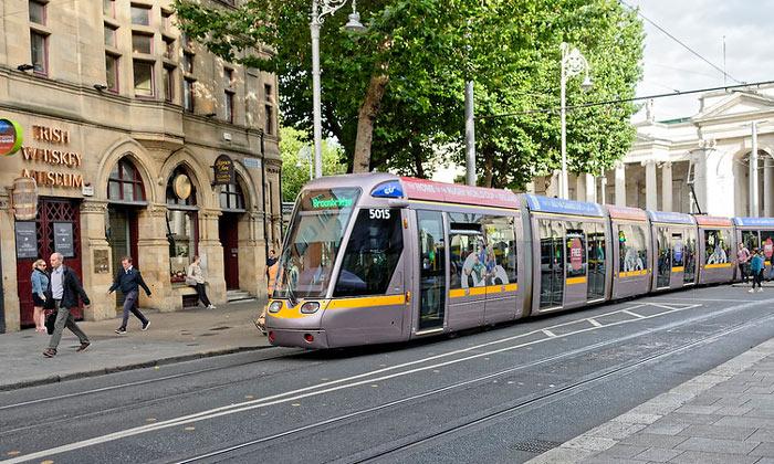 Трамвай Дублина (Рес. Ирландия)