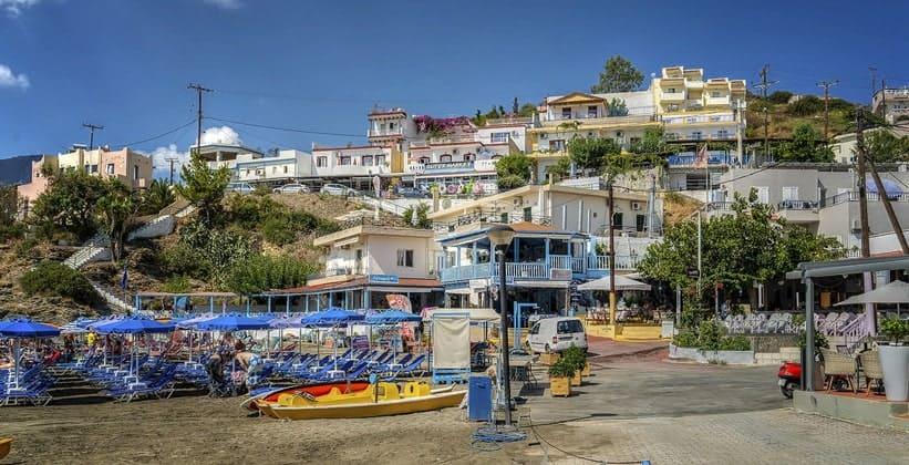 Деревня Бали на острове Крит