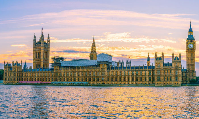 Вестминстерский дворец и Биг-Бен (Лондон)