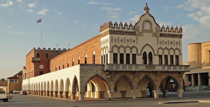 Дворец Говернале на Родосе