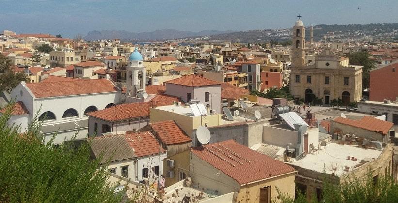Город Ханья на острове Крит