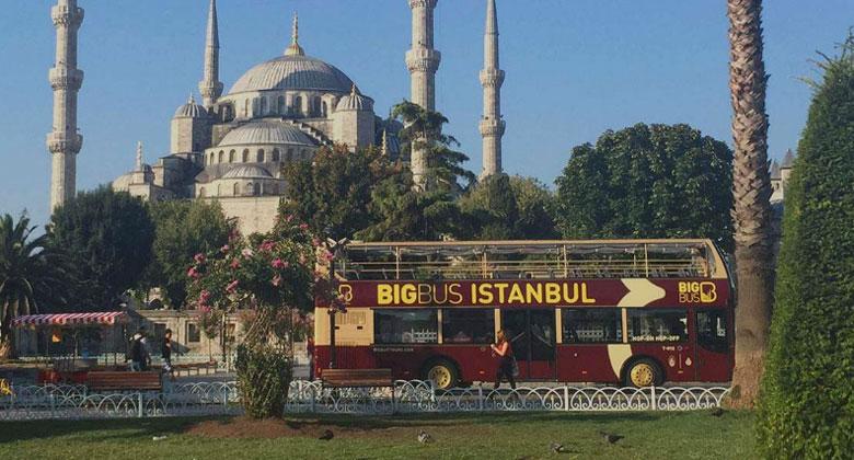 Туристический автобус Стамбула