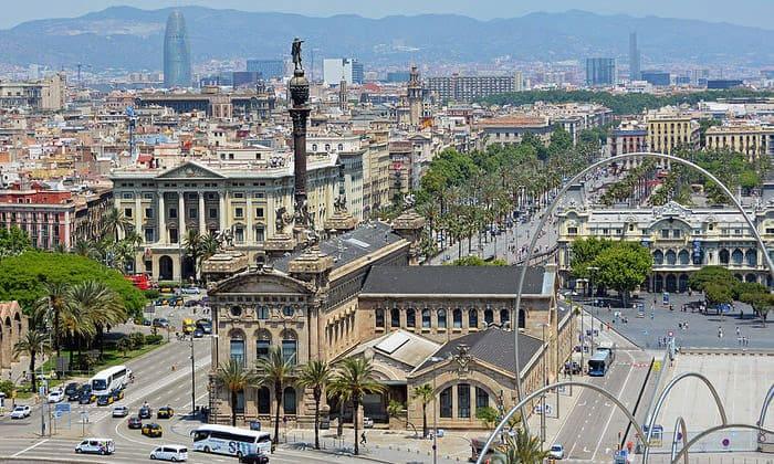 Красоты Барселоны