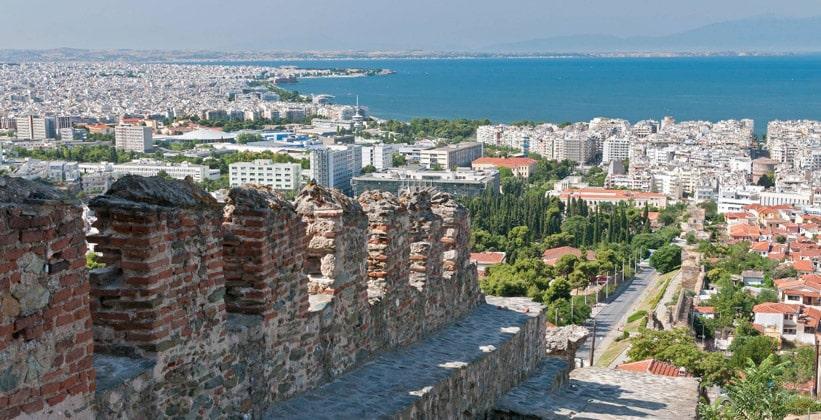Панорама Салоников