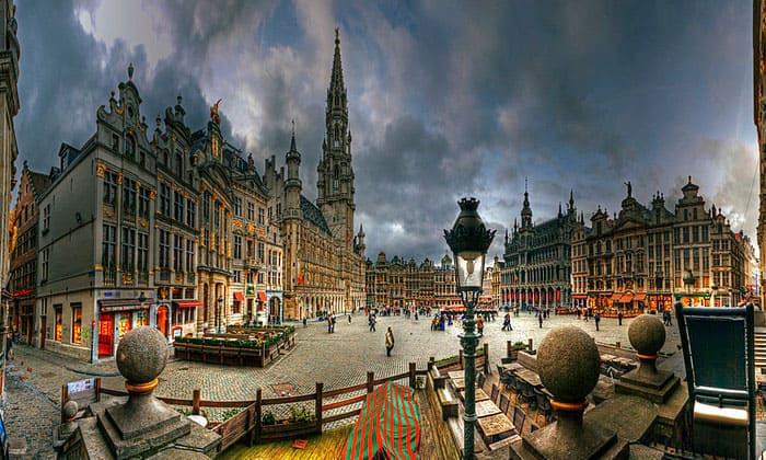 Площадь Гранд в Брюсселе