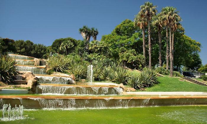 Сад «Мирадор дель Алькальде» в Барселоне