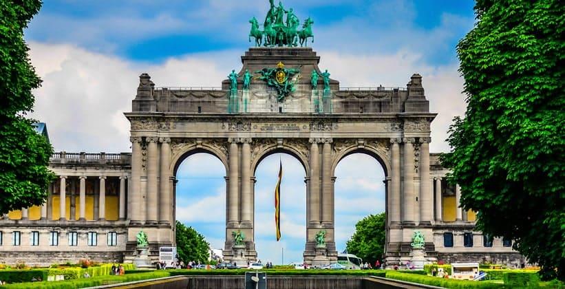 Триумфальная арка Брюсселя