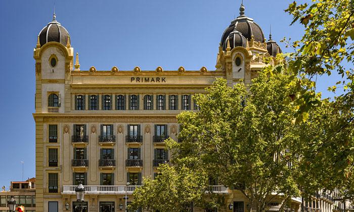 Здание Primark в Барселоне