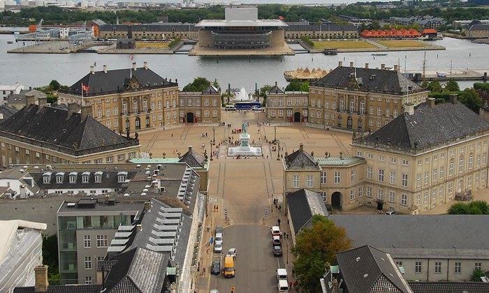 Королевский дворец Амалиенборг (Копенгаген)