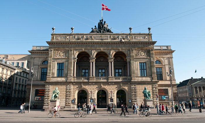 Королевский театр Дании в Копенгагене