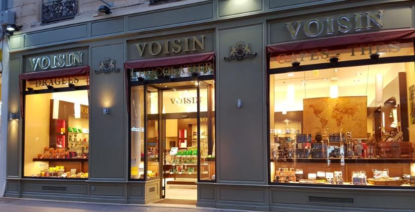 Магазин шоколада Voisin в Лионе