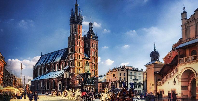 Церковь Успения Пресвятой Девы Марии в Кракове