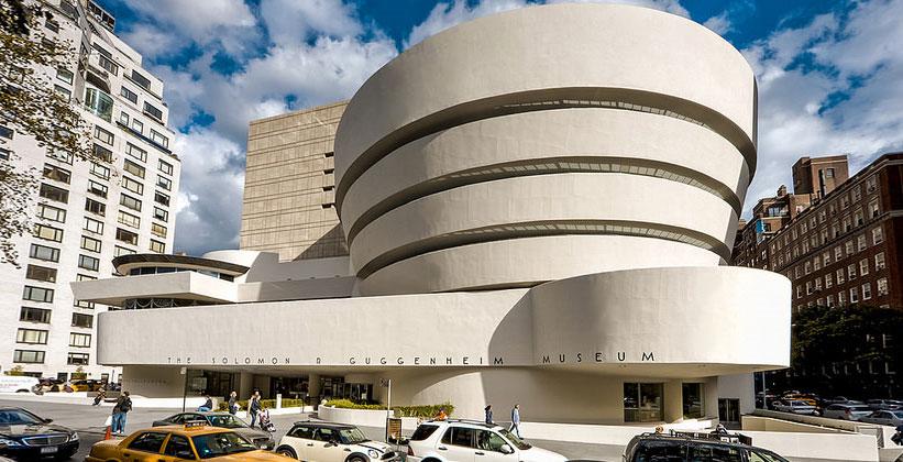 Музей Соломона Гуггенхейма в Нью-Йорке