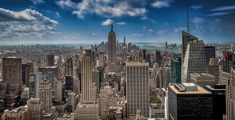 Панорама Нью-Йорка (Манхэттен)