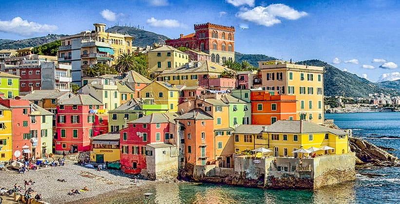 Район Боккадассе в Генуе