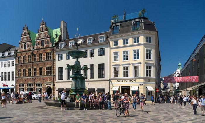 Улица Строгет в Копенгагене