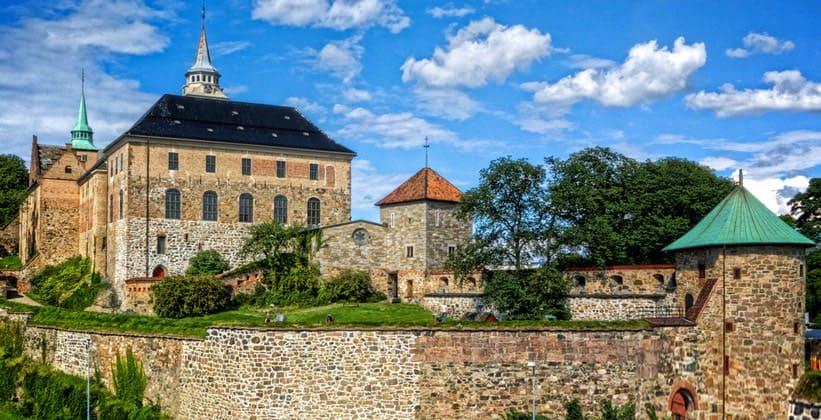 Замок-крепость Акерсхус в Осло