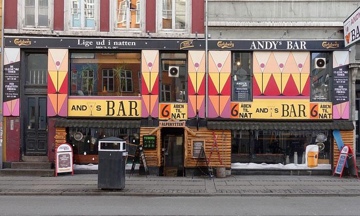 Бар Andys в Копенгагене