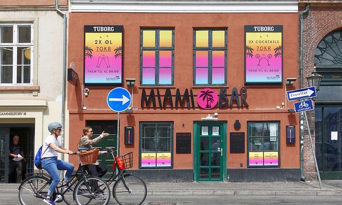 Бар Miami в Копенгагене