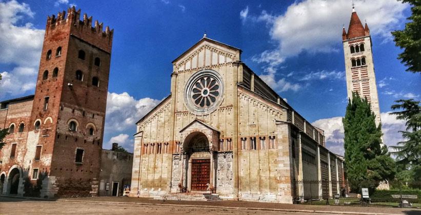 Базилика Сан-Дзено Маджоре в Вероне