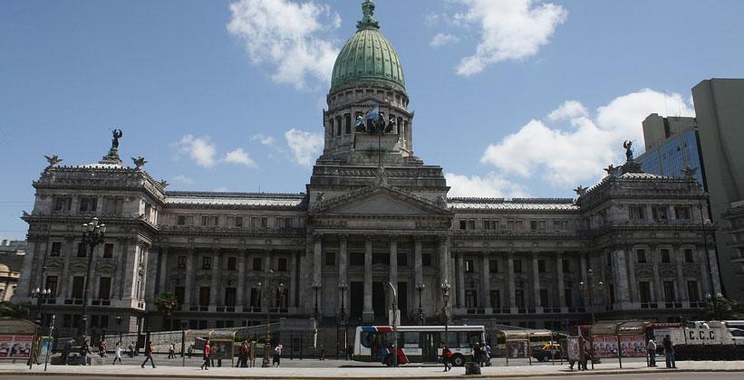 Национальный конгресс Аргентины в Буэнос-Айресе